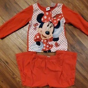 Minnie Mouse PJs